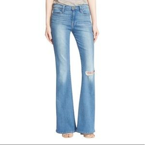 FRAME Le High Flare distressed jeans size 31